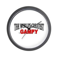 """The World's Greatest Gampy"" Wall Clock"