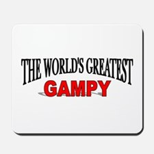 """The World's Greatest Gampy"" Mousepad"