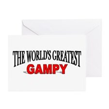 """""""The World's Greatest Gampy"""" Greeting Cards (Packa"""