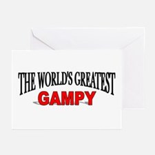 """The World's Greatest Gampy"" Greeting Cards (Packa"