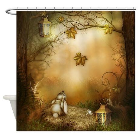 Fairy Woodlands 1 Shower Curtain