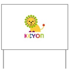 Keyon Loves Lions Yard Sign