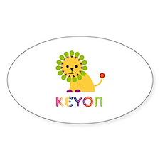 Keyon Loves Lions Decal