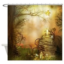 Fairy Woodlands 2 Shower Curtain