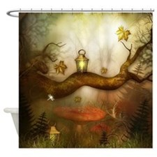 Fairy Woodlands 3 Shower Curtain