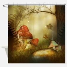Fairy Woodlands 4 Shower Curtain