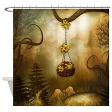 Fairy Woodlands 6 Shower Curtain