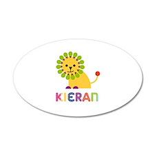 Kieran Loves Lions Wall Decal