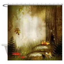 Fairy Woodlands 9 Shower Curtain