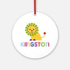 Kingston Loves Lions Ornament (Round)