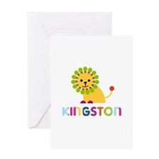 Kingston Loves Lions Greeting Card