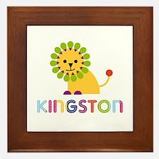 Kingston Loves Lions Framed Tile