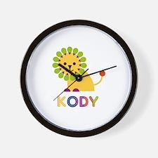 Kody Loves Lions Wall Clock