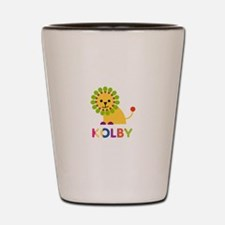 Kolby Loves Lions Shot Glass