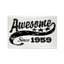 Awesome Since 1959 Rectangle Magnet