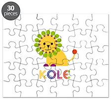 Kole Loves Lions Puzzle