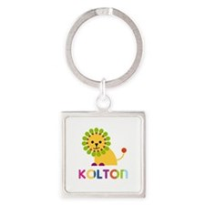 Kolton Loves Lions Keychains