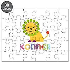 Konner Loves Lions Puzzle