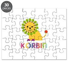 Korbin Loves Lions Puzzle