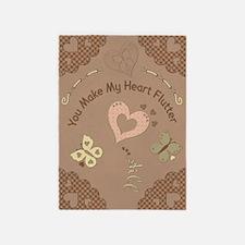 My Heart 5'x7'Area Rug