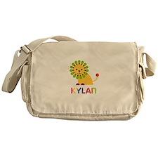 Kylan Loves Lions Messenger Bag