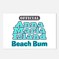 Anna Maria Island Beach Bum Postcards (Package of