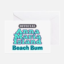 Anna Maria Island Beach Bum Greeting Card