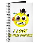 I LOVE the Great Outdoors! Journal