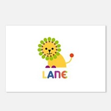 Lane Loves Lions Postcards (Package of 8)
