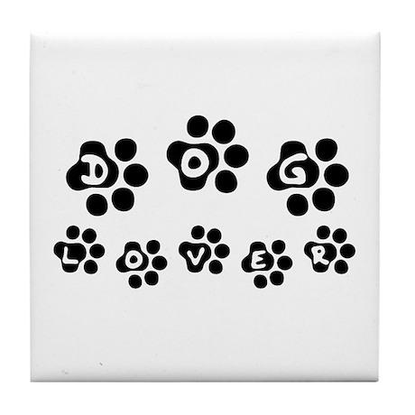Dog Lover - Tile Coaster