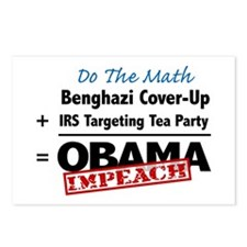 Benghazi Cover Up Impeach Obama Postcards (Package