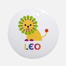 Leo Loves Lions Ornament (Round)