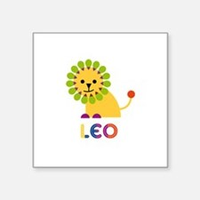Leo Loves Lions Sticker