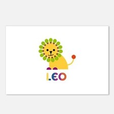 Leo Loves Lions Postcards (Package of 8)