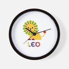 Leo Loves Lions Wall Clock