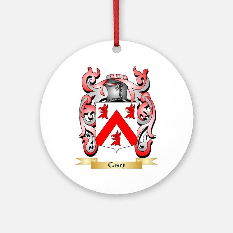 Casey Ornament (Round)