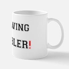 THROWING A WOBBLER! Small Mug