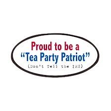 Proud Tea Party Patriot Patches