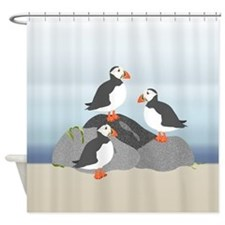 Puffin Shower Curtain