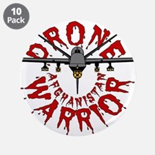 """Drone Warrior - Reaper 3.5"""" Button (10 pack)"""