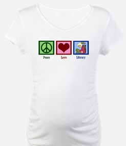 Peace Love Library Shirt