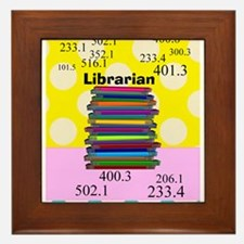Librarian Framed Tile