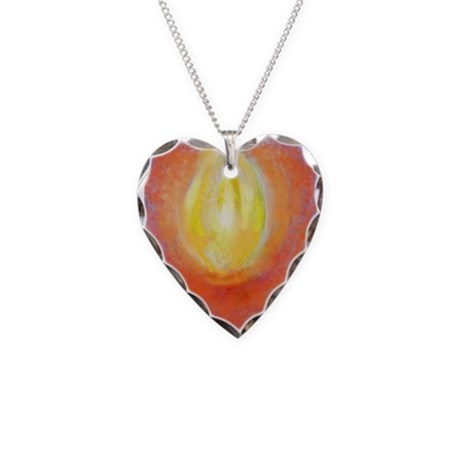 Heart Aflame Necklace