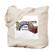 rainbow punch Tote Bag