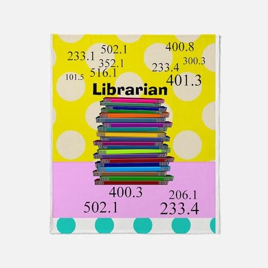 Librarian Throw Blanket