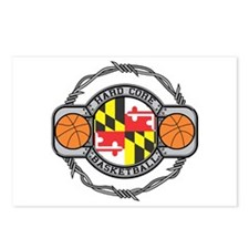 Maryland Basketball Postcards (Package of 8)
