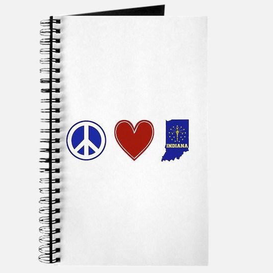 Peace Love Indiana Journal