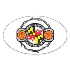 Maryland Basketball Decal
