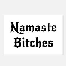 Namaste Bitches Postcards (Package of 8)