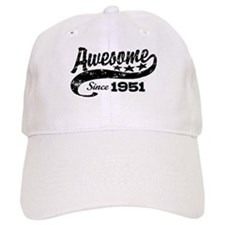 Awesome Since 1951 Baseball Cap
